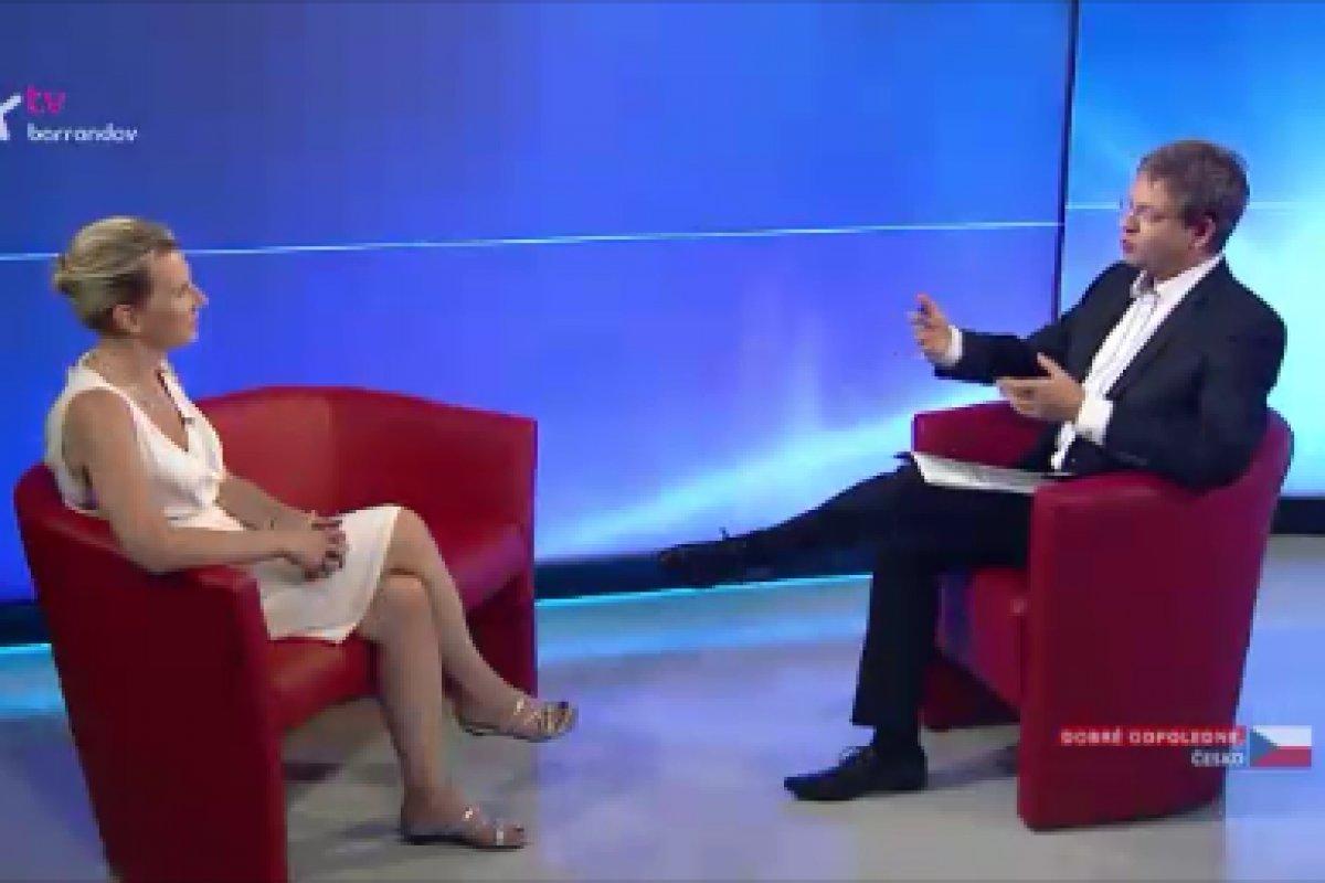 Rozhovor Dr. Hany Višňové pro pořad Dobré odpoledne, Česko na TV Barrandov