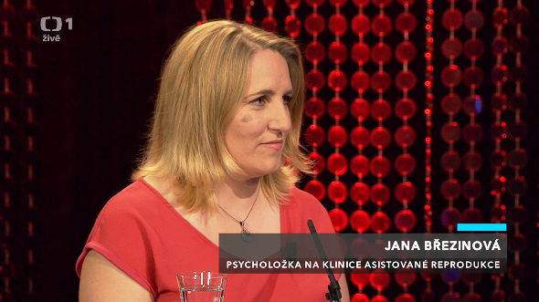 Mgr. Jana Březinová v pořadu Máte slovo s M. Jílkovou, 26.5.2016