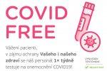 COVID - Free provoz