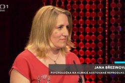 IVF CUBE v pořadu Máte slovo s M. Jílkovou