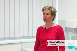 MUDr. Hana Višňová v Televizi Seznam